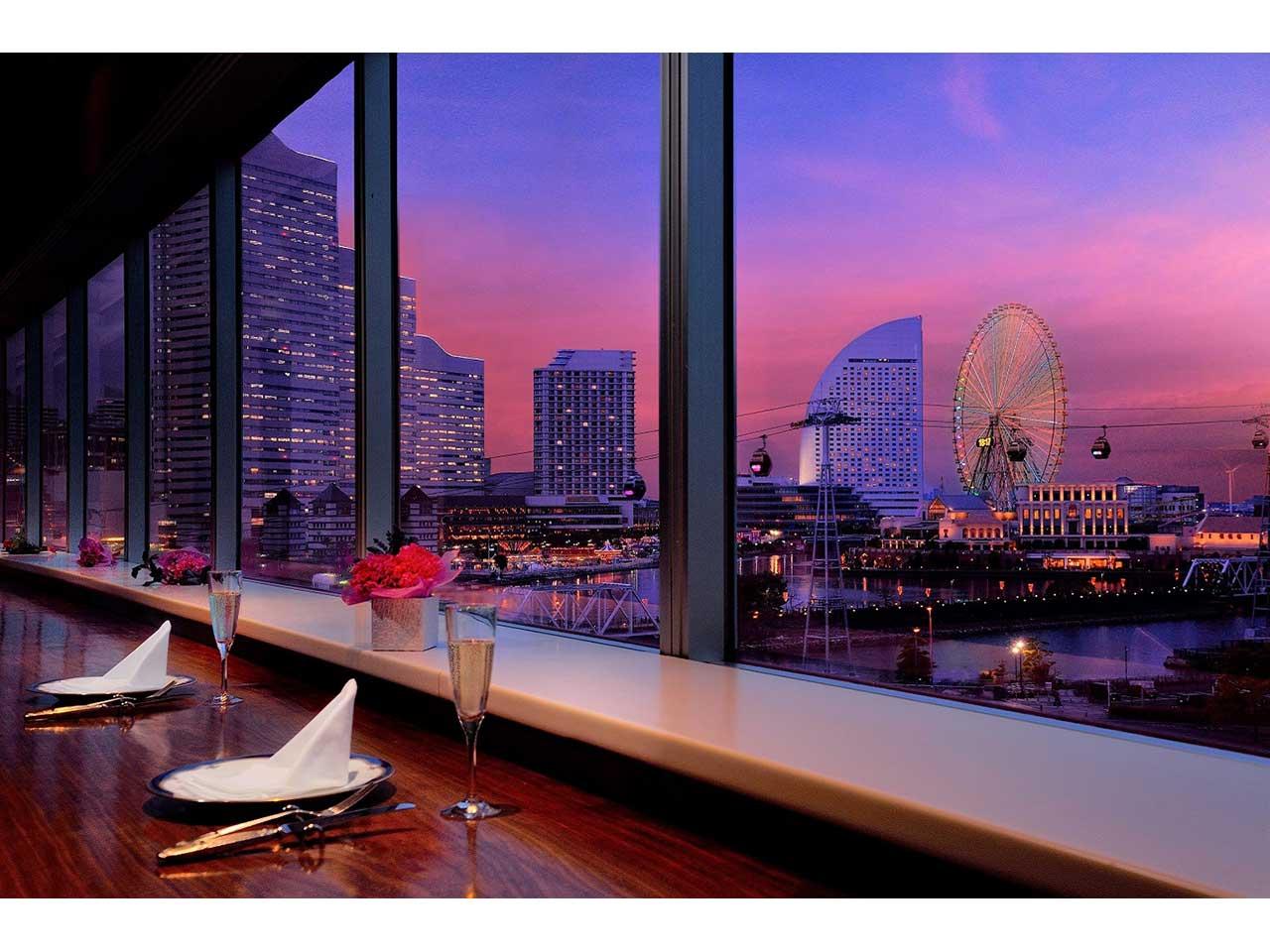 横浜桜木町ワシントンホテル5階 ダイニング&バー ベイサイド
